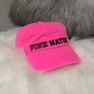 Victoria's Secret PINK Nation Baseball Cap
